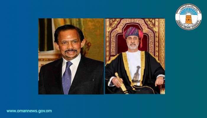 جلالة السلطان يهنئ سلطـان برونـاي دار السلام