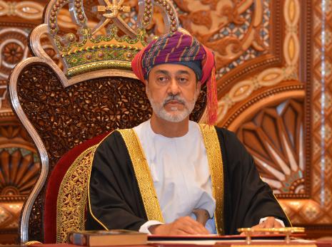 جلالة السلطان يهنئ رئيس جمهورية غويانا التعاونية