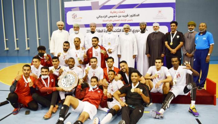 نادي عمان يحقق لقب بطولة دوري الدرجة الثانية للكرة الطائرة