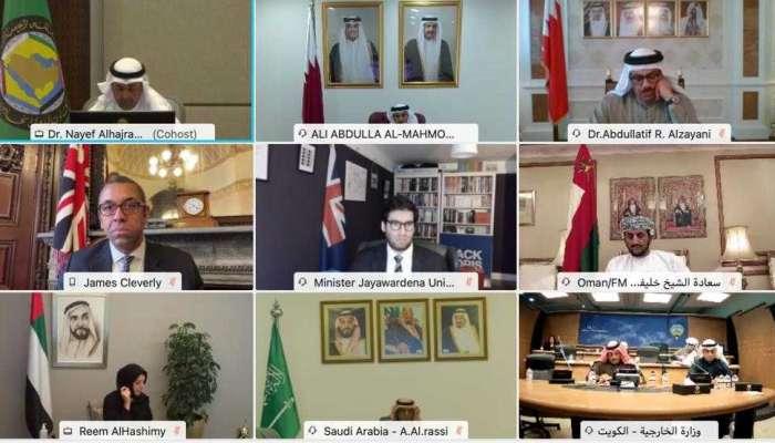 السلطنة تشارك في اجتماع وزاري خليجي مشترك مع المملكة المتحدة