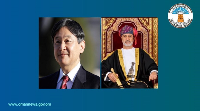 His Majesty the Sultan Greets  Emperor of Japan