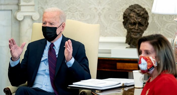 Coronavirus: Biden's $1.9tn Covid relief bill passes House vote