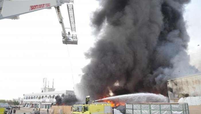 الدفاع المدني: تعاملنا مع 3409 حادث حريق خلال 2020