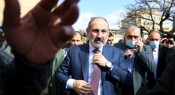 Armenian president rejects prime ministerial order to sack army chief