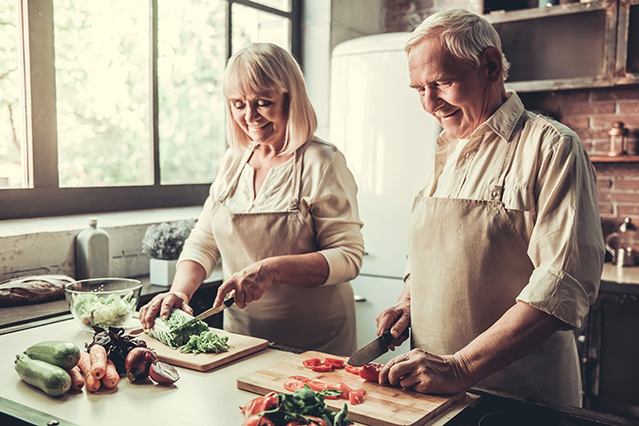 Easy to follow nutrition tips for seniors