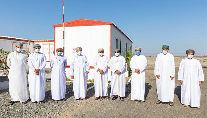 Ministerial delegation visits Khazaen Economic City