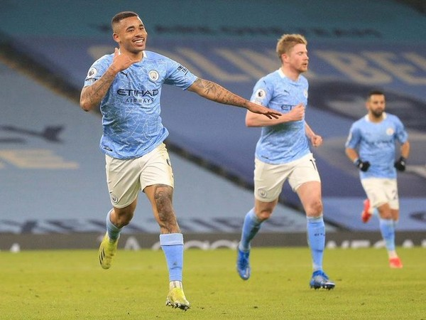Man City thrash Wolves to extend lead at top of standings