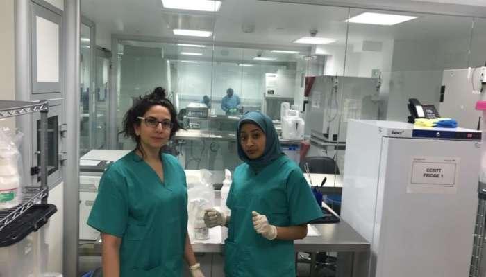 طبيبة عمانية تساهم في إنقاذ طفلة بريطانية