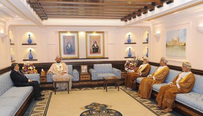 Sayyid Asa'ad receives Algerian ambassador