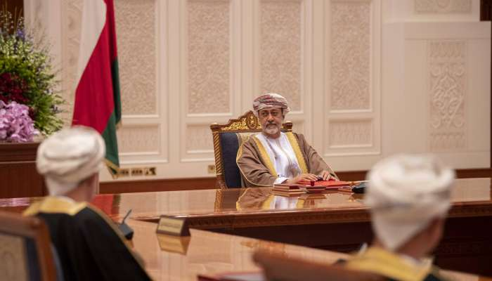His Majesty presides over Council of Ministers meeting