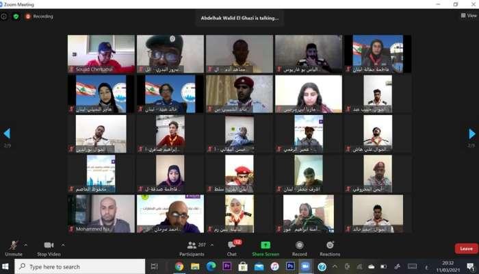 السلطنة تشارك في لقاء العربي لتبادل الثقافات والتعرف على الحضارات