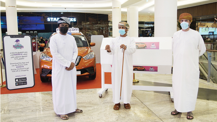 Fortune smiles on first-time Omani woman customer of Rafeeq, bags grand draw prize