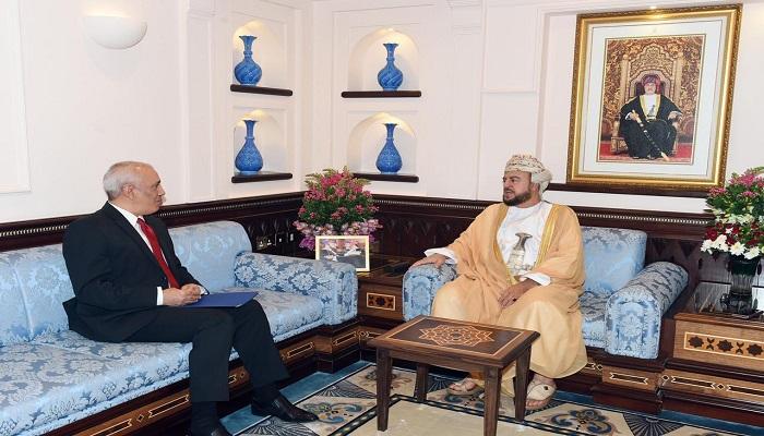 Tunisia's Ambassador to Oman meets Sayyid Asaad