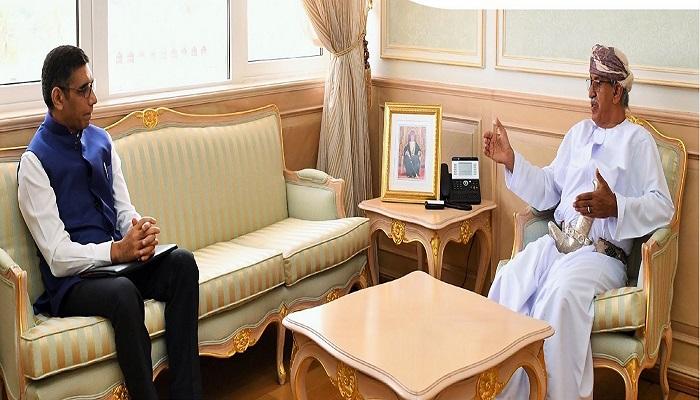 Oman's Health Minister meets Indian Ambassador