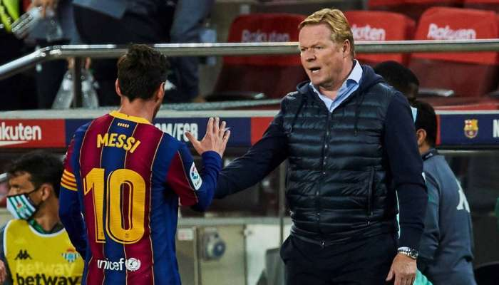 Messi is most important man in the history of Barcelona: Koeman