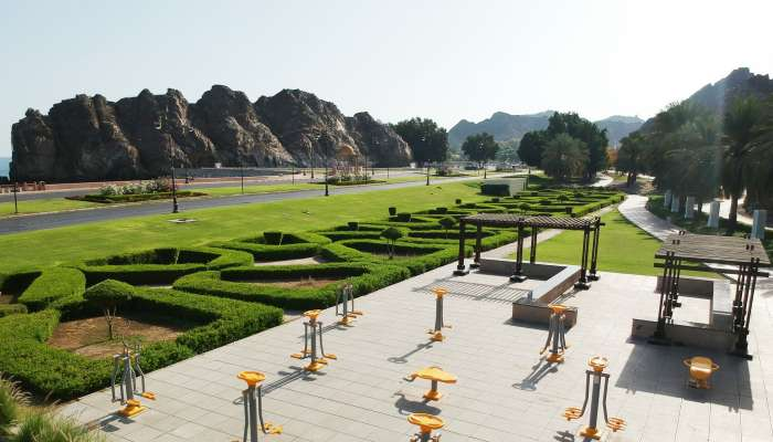 Free open-air gyms in Muscat's Muttrah and Qurum now open to public