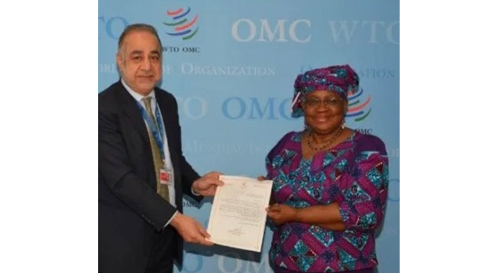 Oman's Representative to UN presents credentials to WTO