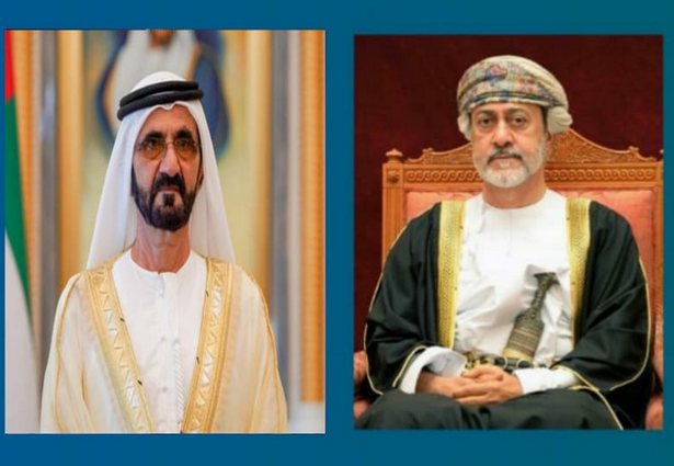His Majesty speaks to Sheikh Mohammed