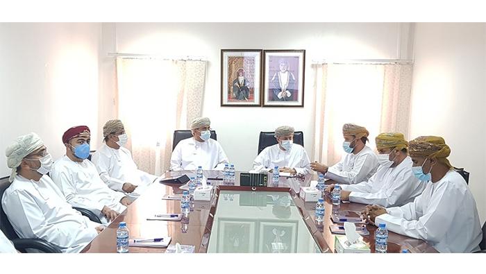 High-profile delegation visits Al Mazunah Free Zone