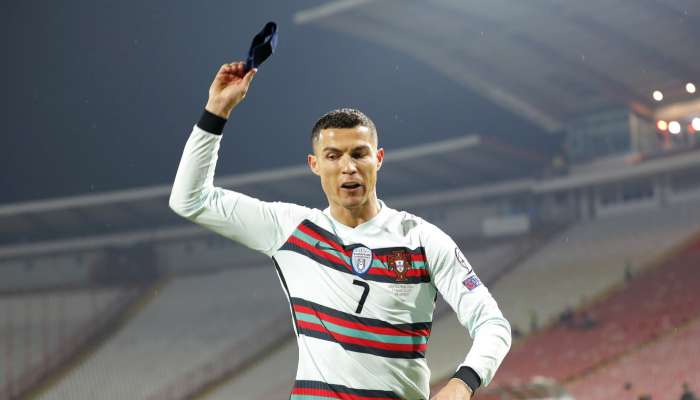 Ronaldo throws captain's armband, storms off pitch after being denied goal