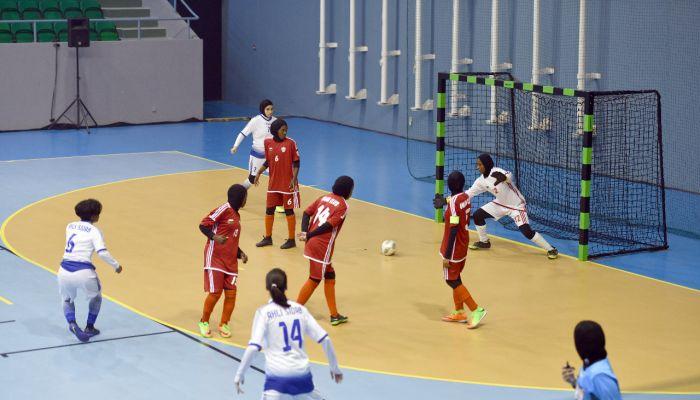 غزارة في الأهداف في دوري كرة النساء للصالات