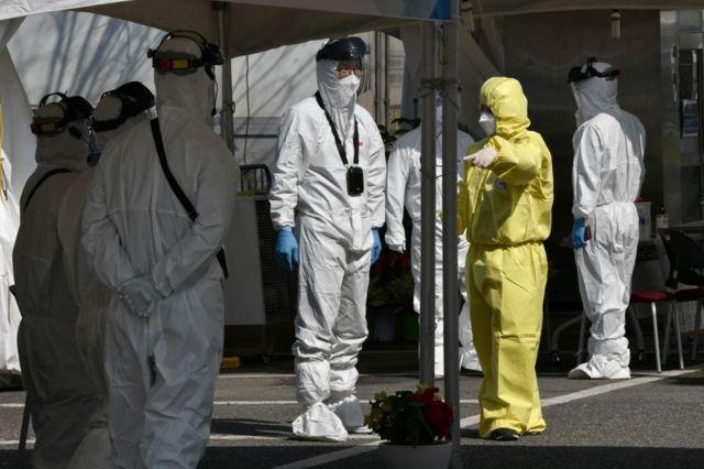 إصابات كورونا الجديدة في كوريا الجنوبية تتجاوز عتبة الـ500 حالة