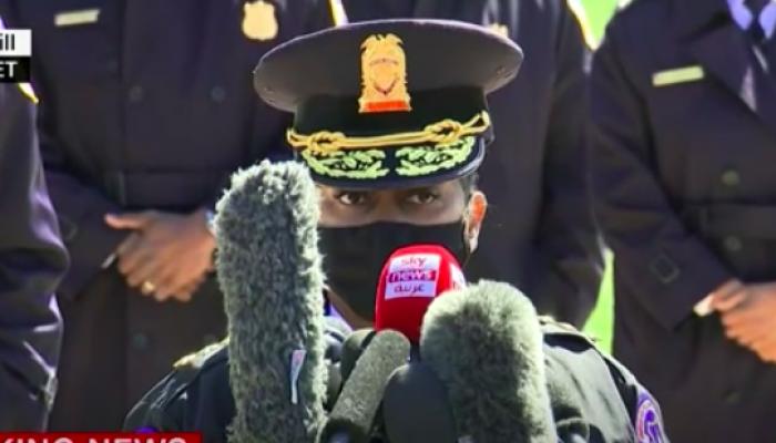 قائدة شرطة الكونغرس تروي تفاصيل الهجوم