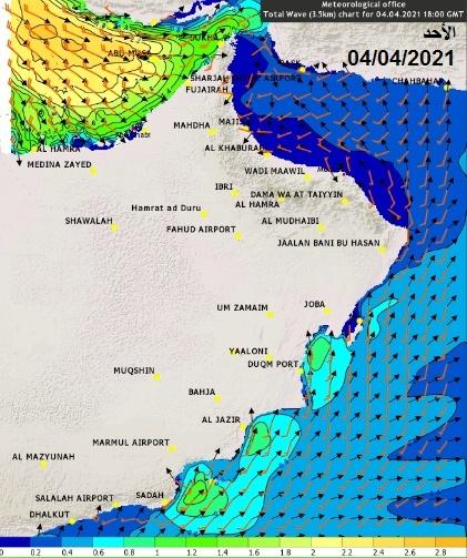 توقعات بارتفاع موج البحر.. والأرصاد تنبه