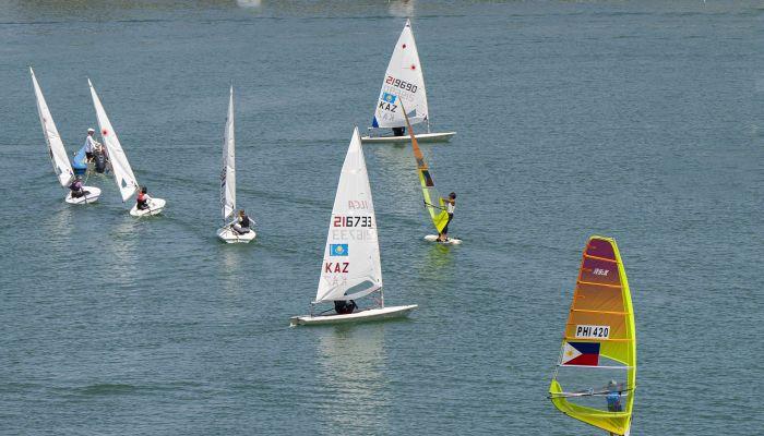 إنطلاق بطولة المصنعة المفتوحة للإبحار الشراعي المؤهلة لأولمبياد طوكيو