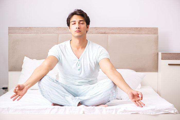 Lockdown plans: Practise yoga for a good night's sleep