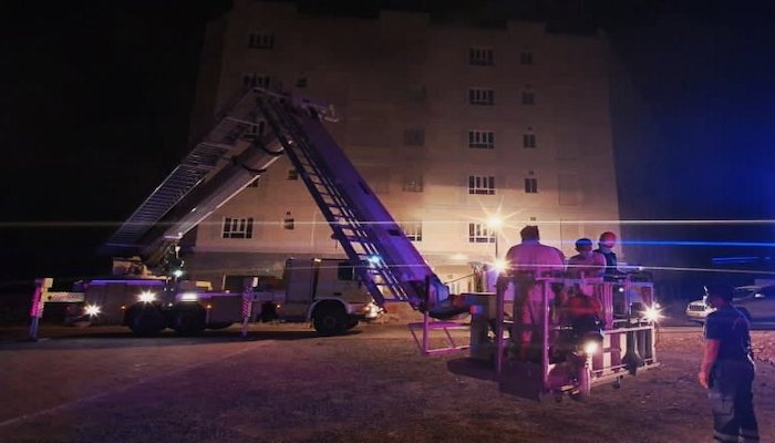 Fire in Seeb building brought under control