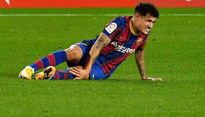 برشلونة يؤكد خضوع كوتينيو لعملية جراحية ثانية ناجحة