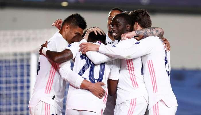 Real Madrid thrash Liverpool in first-leg quarterfinal