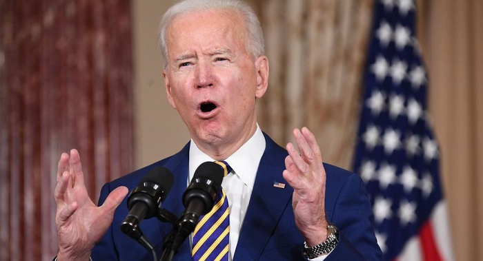 Biden says US administered 150 million Covid vaccine doses so far
