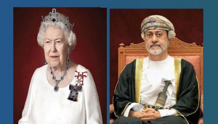 جلالة السلطان يعزي الملكة إليزابيث الثانية