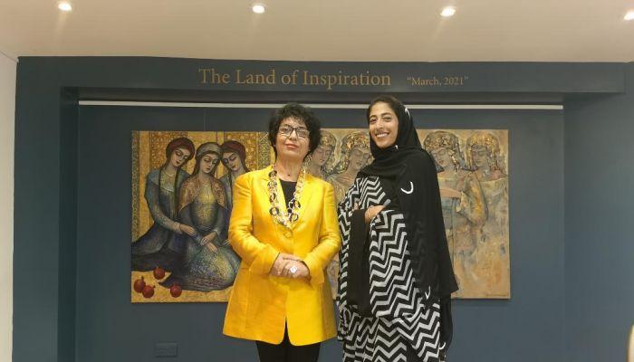 سارة العولقي: جاليري Cure8 للفنون.. يقدم أعمال أبدعت في وعن عمان