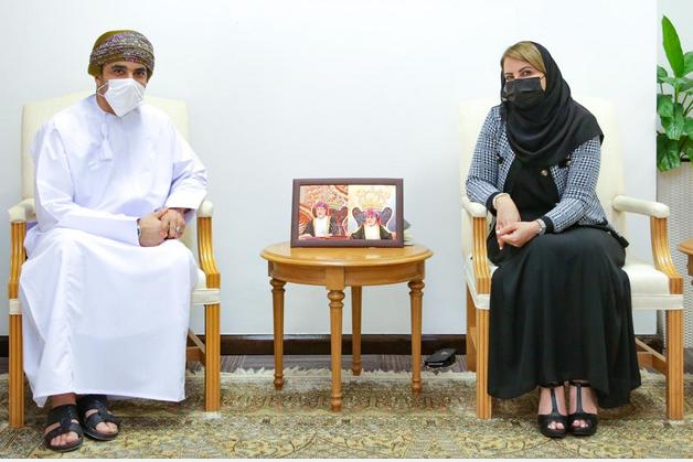 نتائج زيارات سفارتنا بالسعودية تستعرضها وكيلة التجارة والسيد فيصل بن تركي