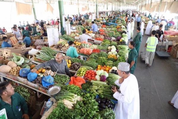 مواعيد فتح السوق المركزي للخضروات والفواكه خلال شهر رمضان