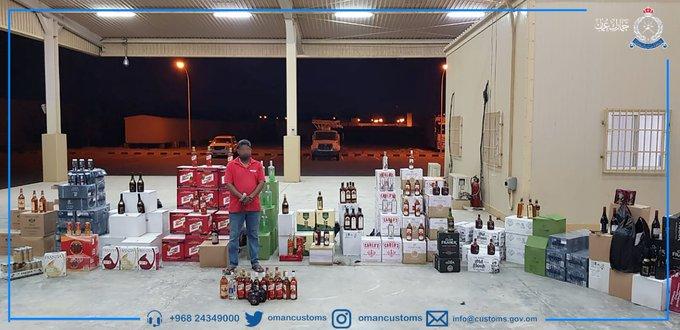 ضبط مشروبات كحولية مهربة ببوشر