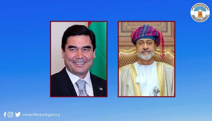 جلالة السلطان يبعث برقية تعزية لرئيس تركمنستان