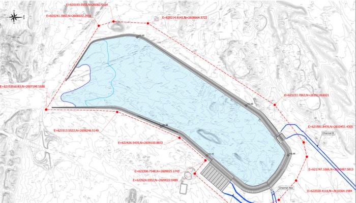 تنفيذ مشروع سد الحماية من مخاطر الفيضانات بولاية السيب