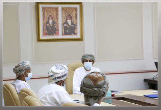 وزير الدولة ومحافظ مسندم يدشن برنامح 'ليين'