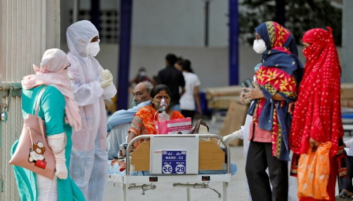 الهند الثانية عالميا بعدد إصابات كورونا