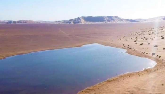 Ever heard of lakes forming between sand dunes? Find them in this part of Oman