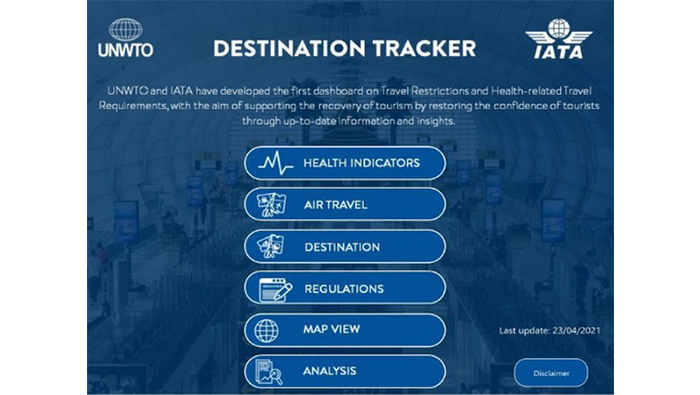 Destination tracker to restore confidence in travel launched