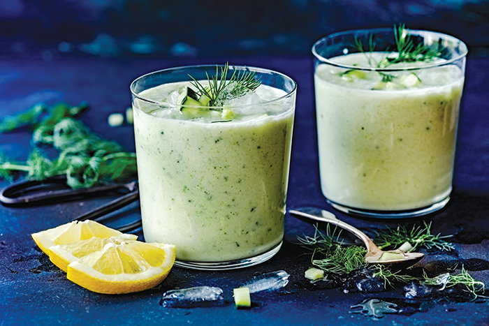 Iftar recipe: Cold cucumber soup