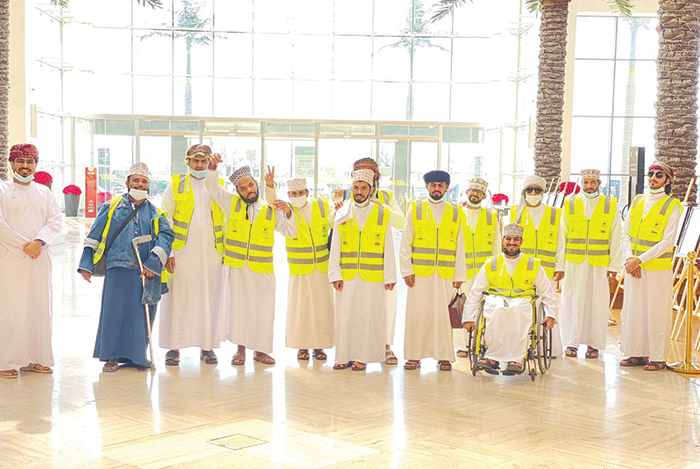Disabled students receive training in Oman to succeed at the workplace