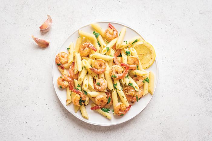 Iftar recipe: Prawns pasta