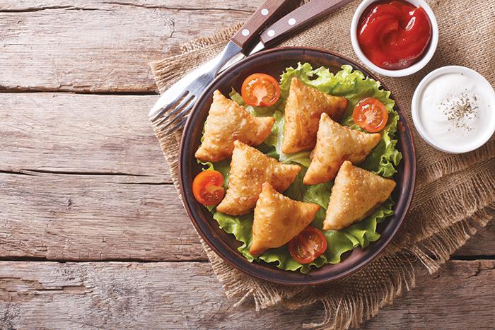 Iftar recipe: Spicy chicken samosa