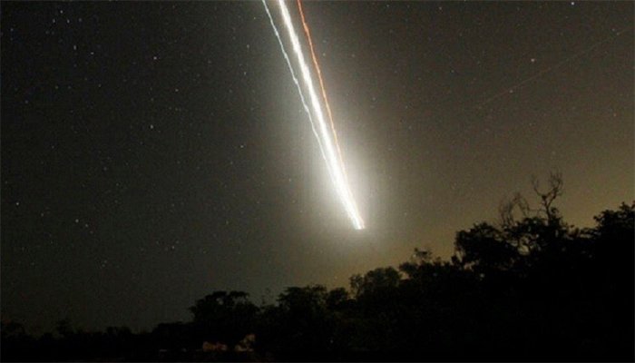 Flaming fireball seen in Oman's sky
